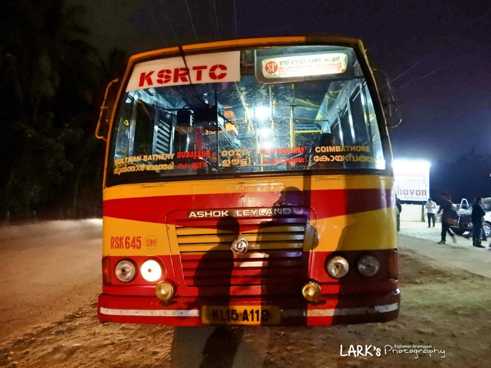 KeSRTC RSK 645 Sulthan Bathery – Coimbatore