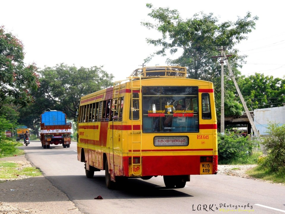 KSRTC RSK 645 Sulthan Bathery - Coimbatore