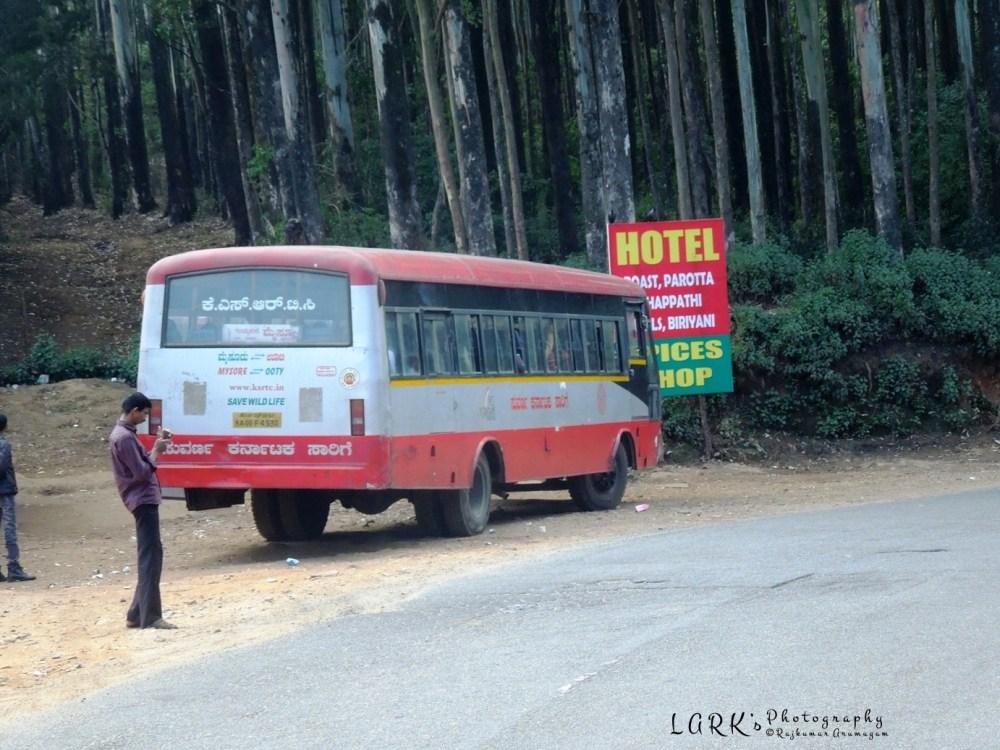 KaSRTC KA 09F 4930 Ooty - Mysore