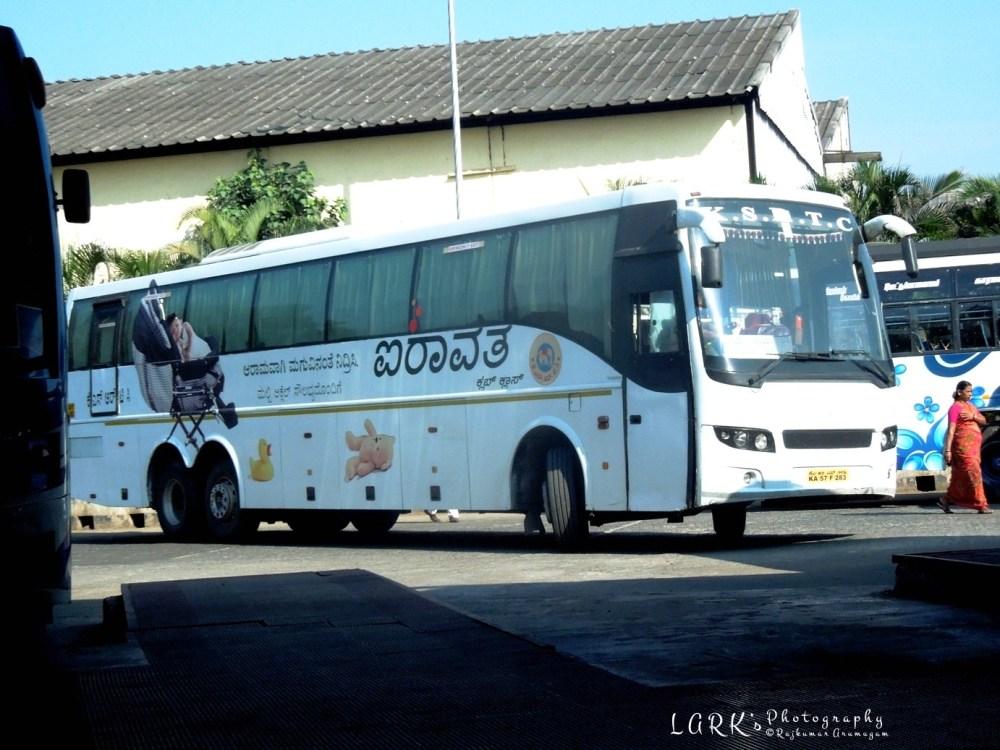 KaSRTC KA 57 F 283 Coimbatore - Bangalore