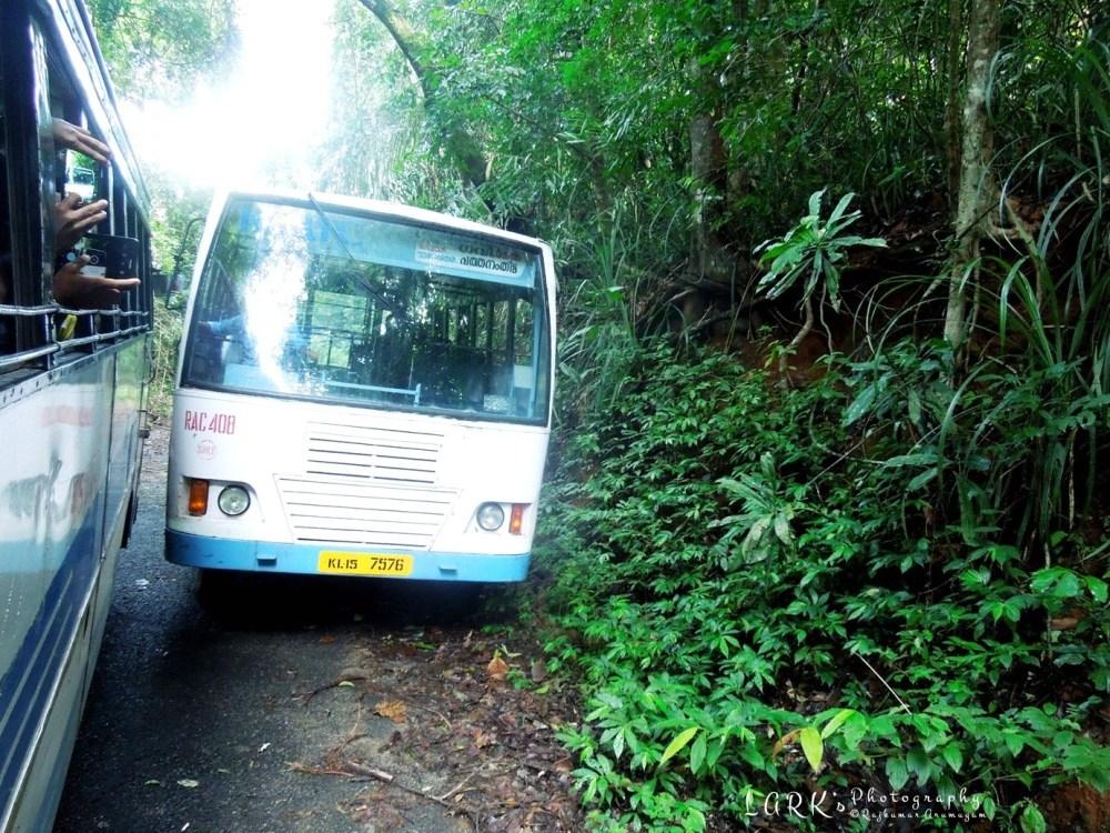 KSRTC RNC 869 & RAC 408 Pathanamthitta - Gavi - Kumily