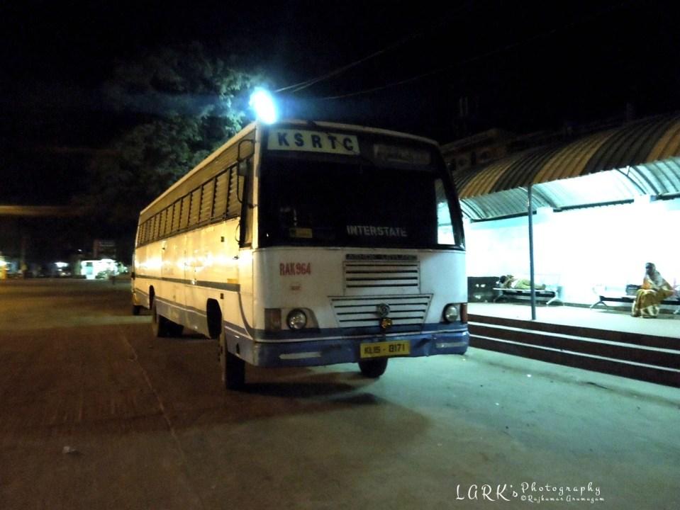 KSRTC RAK 964 Udumalpet - Munnar
