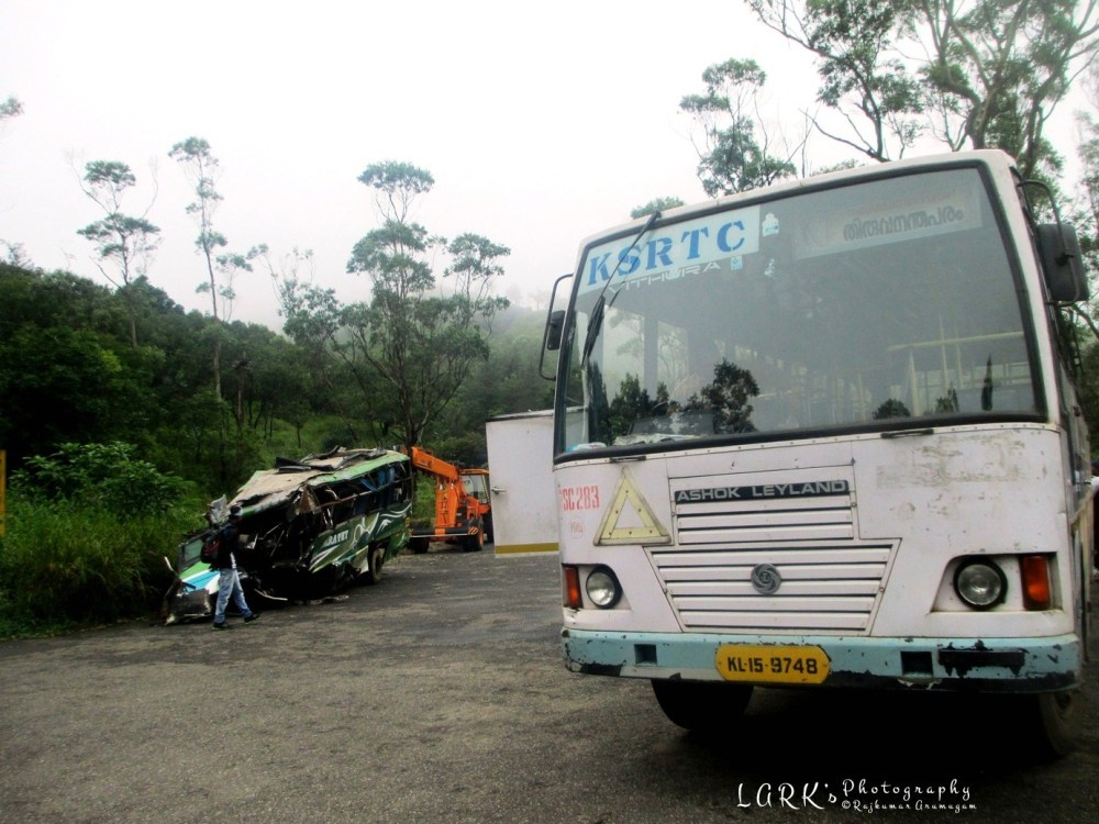 KSRTC RSC 283 Thiruvananthapuram - Ponmudi