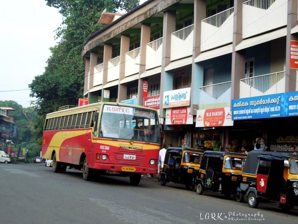 KSRTC RSC 394 Pathanamthitta - Padichira