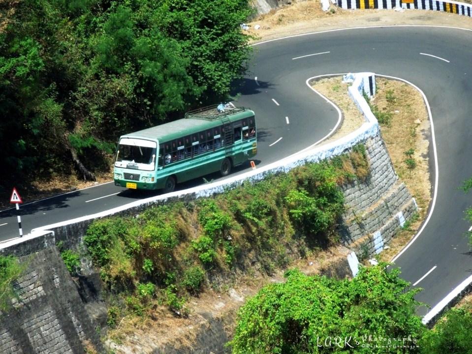 TNSTC TN 38 N 1303 Pollachi - High Forest