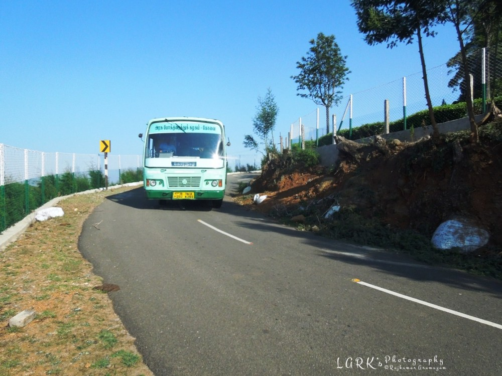 TNSTC TN 38 N 2103 Kotagiri - Kodanad View Point