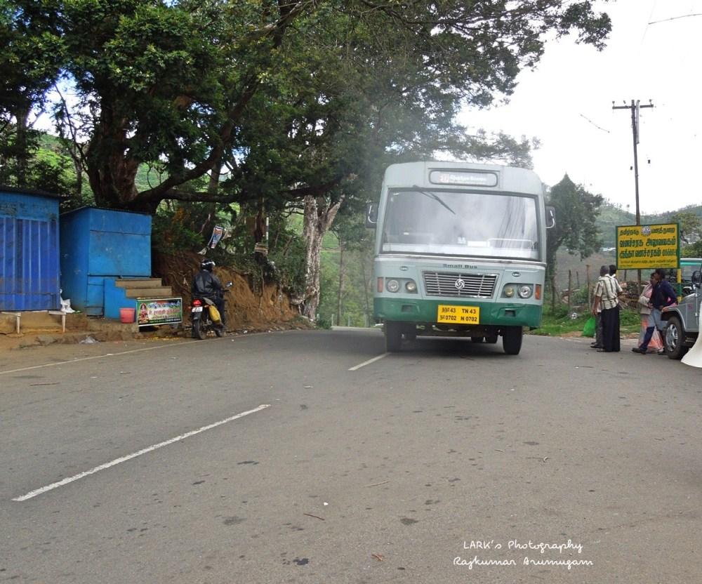 TNSTC TN 43 N 0702 Ooty -Kizkundah - Coimbatore