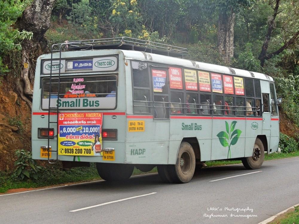 TNSTC TN 43 N 0706 Coimbatore - Kizkundah - Ooty
