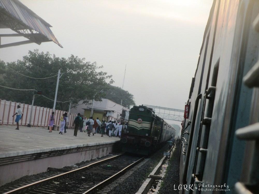 16779 - Tirupati - Rameswaram Meenakshi Express