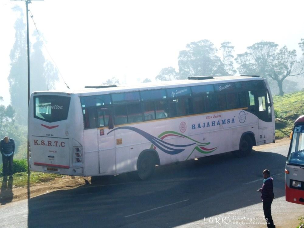 KaSRTC KA 19 F 3040 Mangalore - Ooty