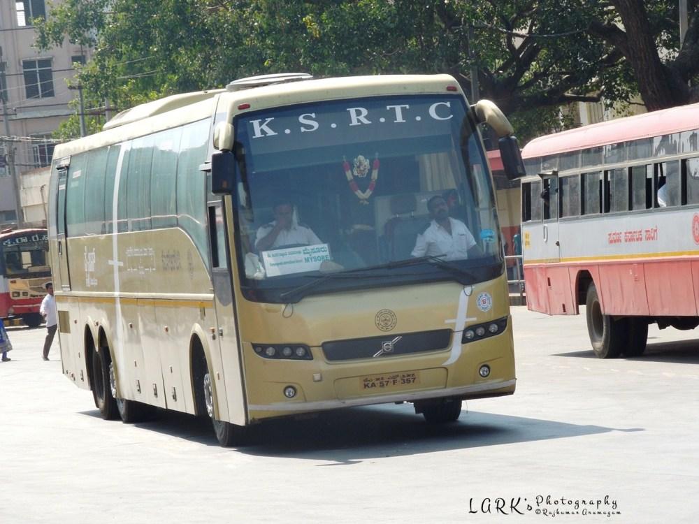 KSRTC KA 57F 357 Mysore - Kempegowda International Airport (Bangalore)