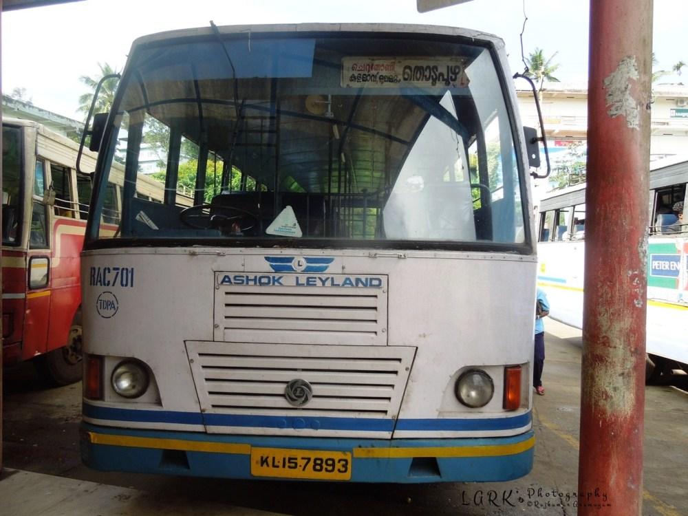 KeSRTC RAC 701 Kattappana - Thodupuzha