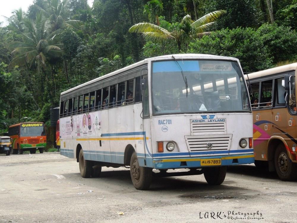 KSRTC RAC 701 Kattappana - Thodupuzha