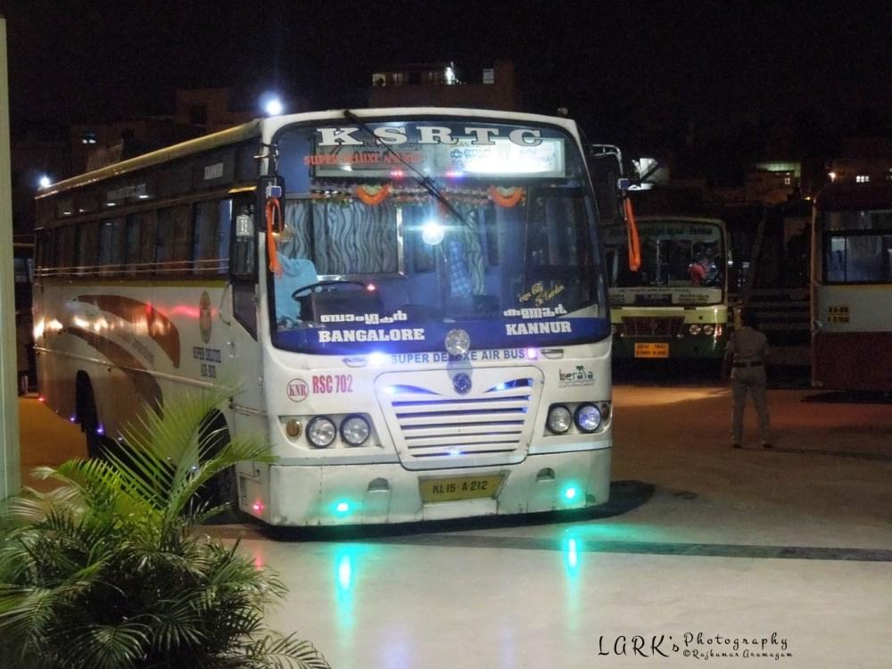 KeSRTC RSC 702 Bangalore - Kannur