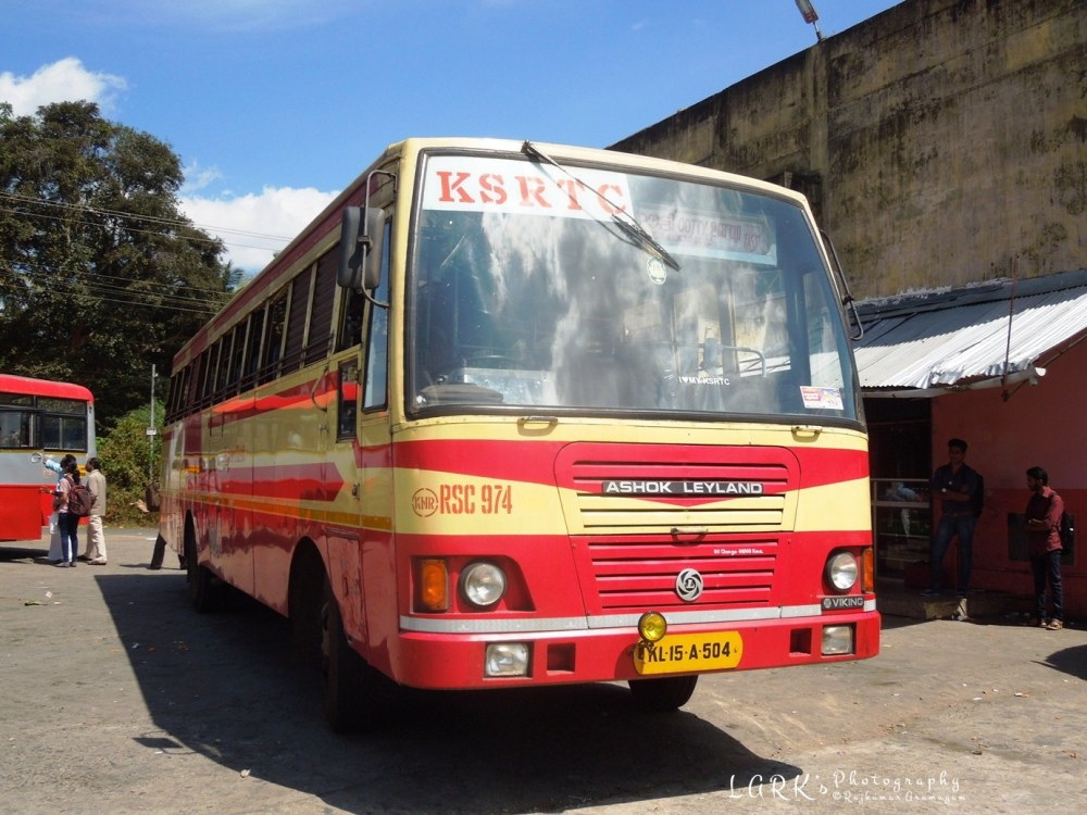 KSRTC RSC 974 Kannur - Ooty