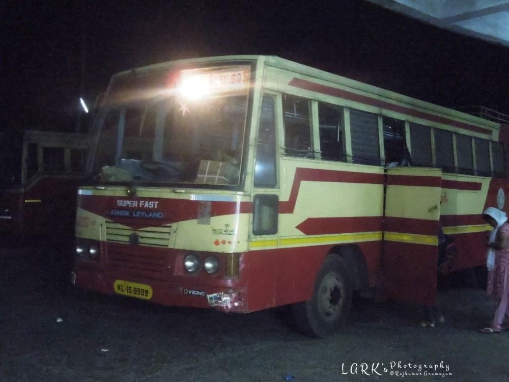KeSRTC RSK 123 Coimbatore - Kottarakkara