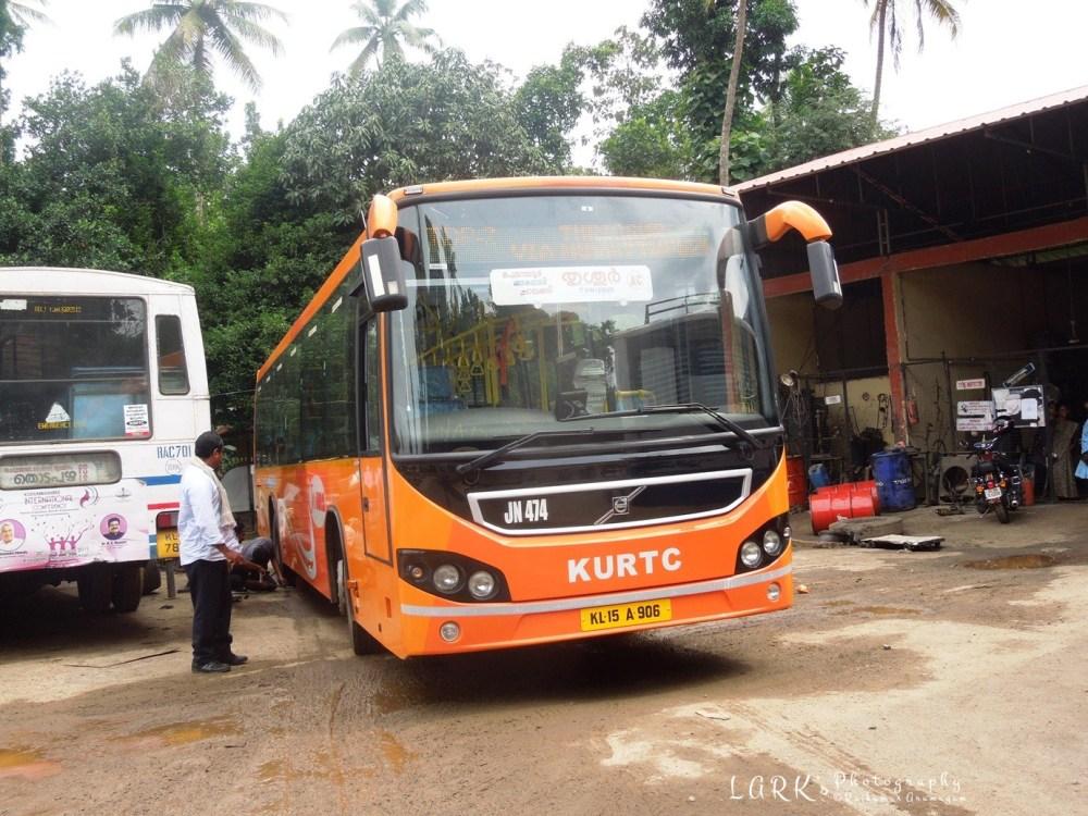 KeSRTC - KURTC JN 474 Thodupuzha - Thrissur
