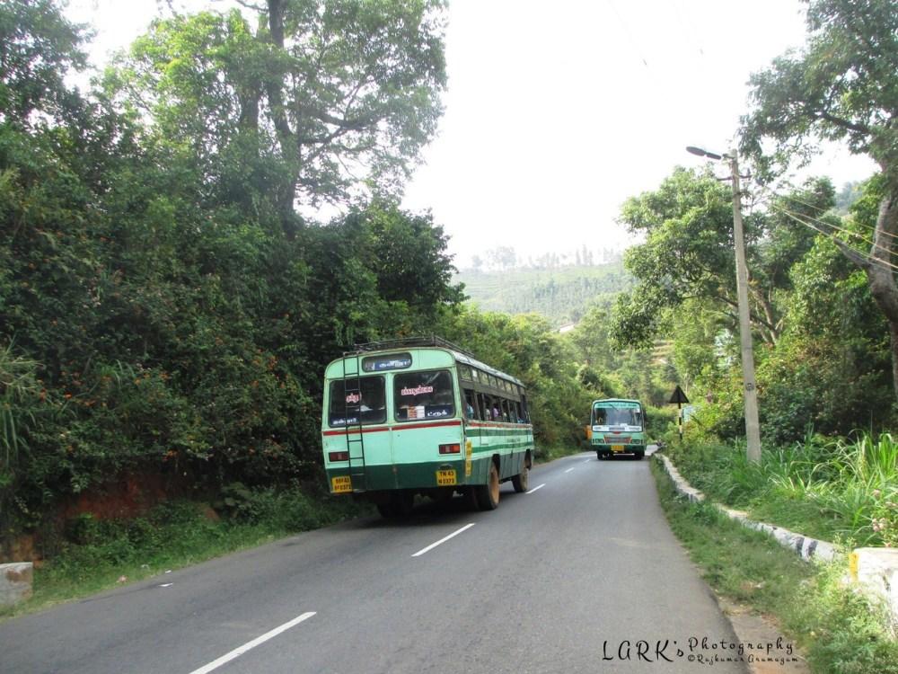 TNSTC TN 43 N 0372 Coonoor - Pakkasuran Malai