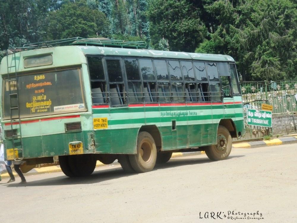 TNSTC TN 43 N 0571 Odayaratti - Ooty - Mettupalayam