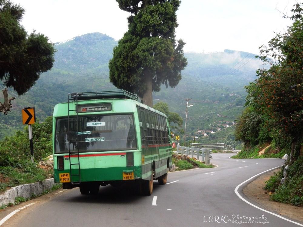TNSTC TN 43 N 0619 Ooty - Coimbatore