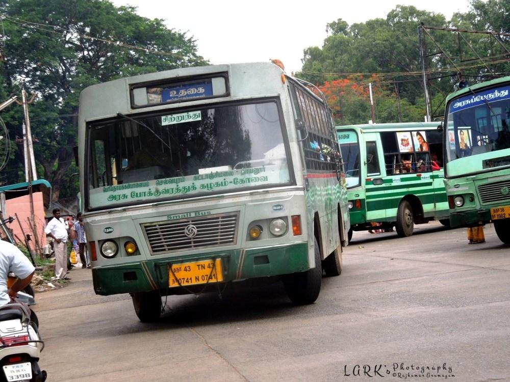 TNSTC TN 43 N 0741 Ooty - Tholampalayam