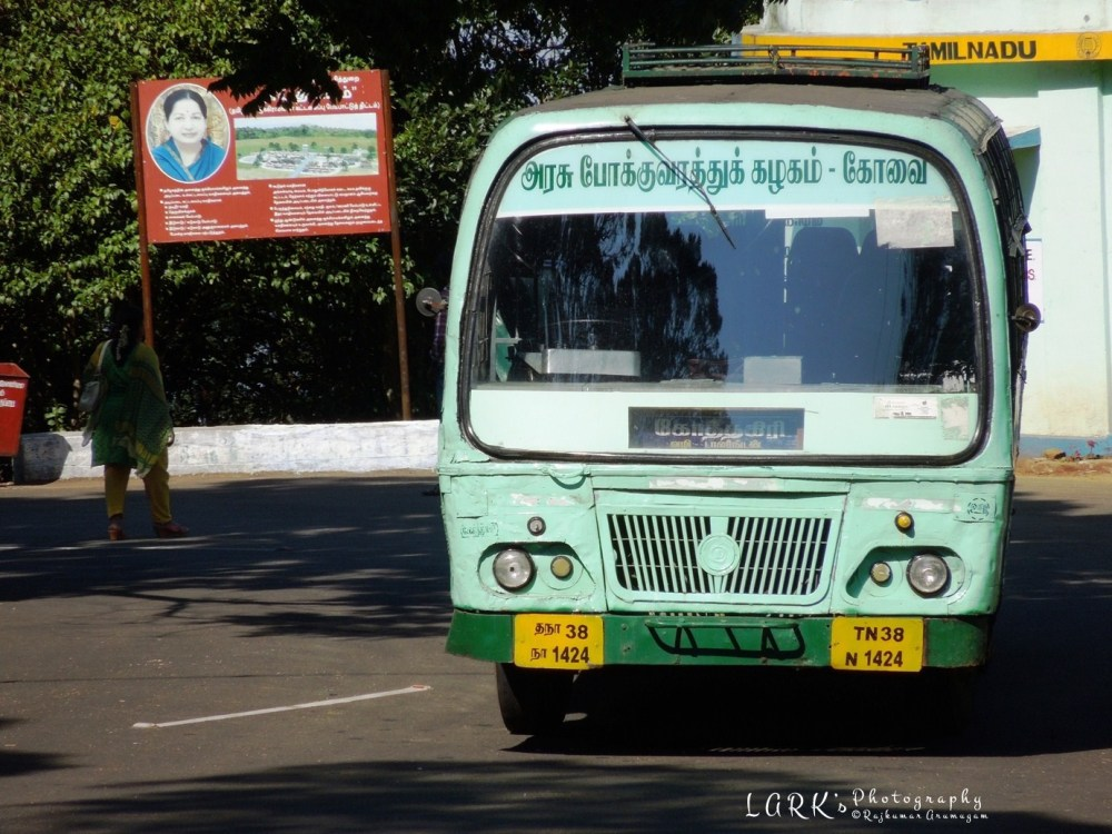 TNSTC TN 38 N 1424 Kotagiri - Kodanad View Point
