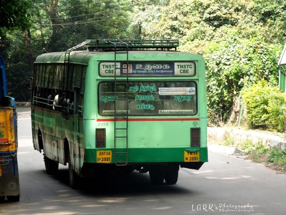 TNSTC TN 38 N 2881 Ooty - Madurai