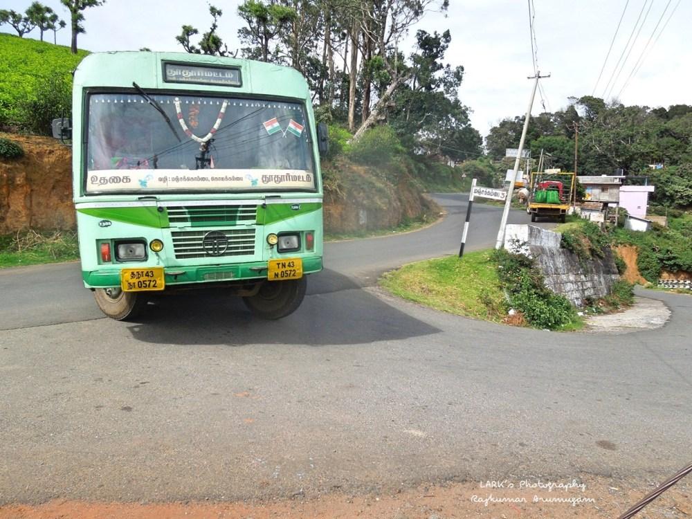 TNSTC TN 43 N 0572 Ooty - Thoothoormattam