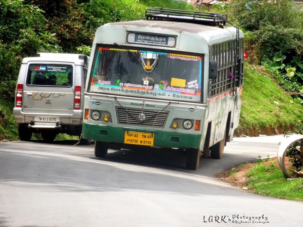 TNSTC TN 43 N 0735 Ooty - Kinnakorai