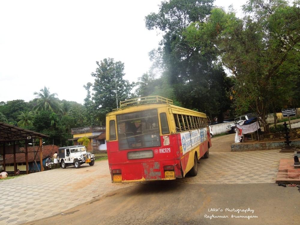 KSRTC RNC 829 Punalur - Shengottai - Achankovil