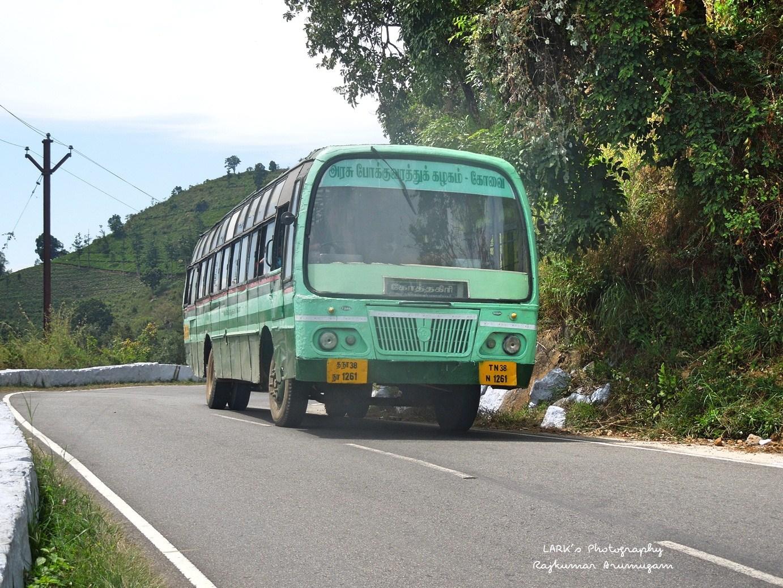 TNSTC TN 38 N 1261 Sholurmattam - Thengumarahada