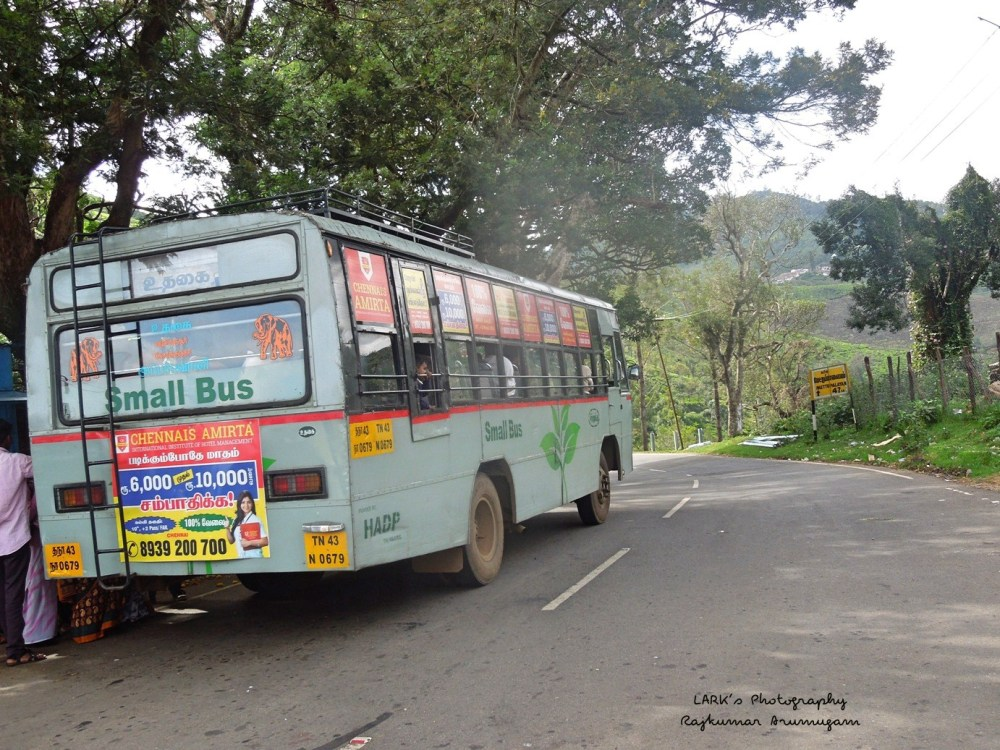 TNSTC TN 43 N 0679 Ooty - Upper Bhavani