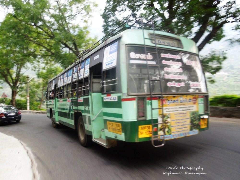 TNSTC TN 30 N 1374 Ooty - Salem