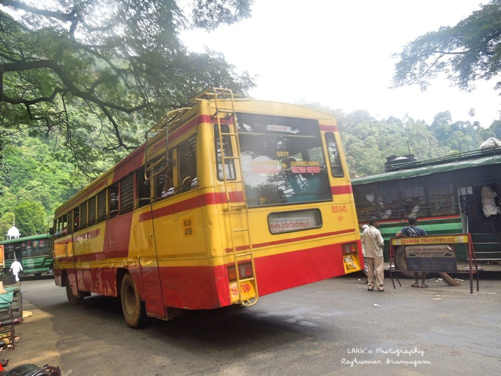 KeSRTC RSK 645 Sulthan Bathery - Coimbatore