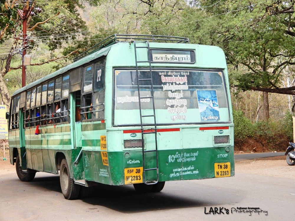 TNSTC TN 38 N 2283 Coimbatore - Poondi