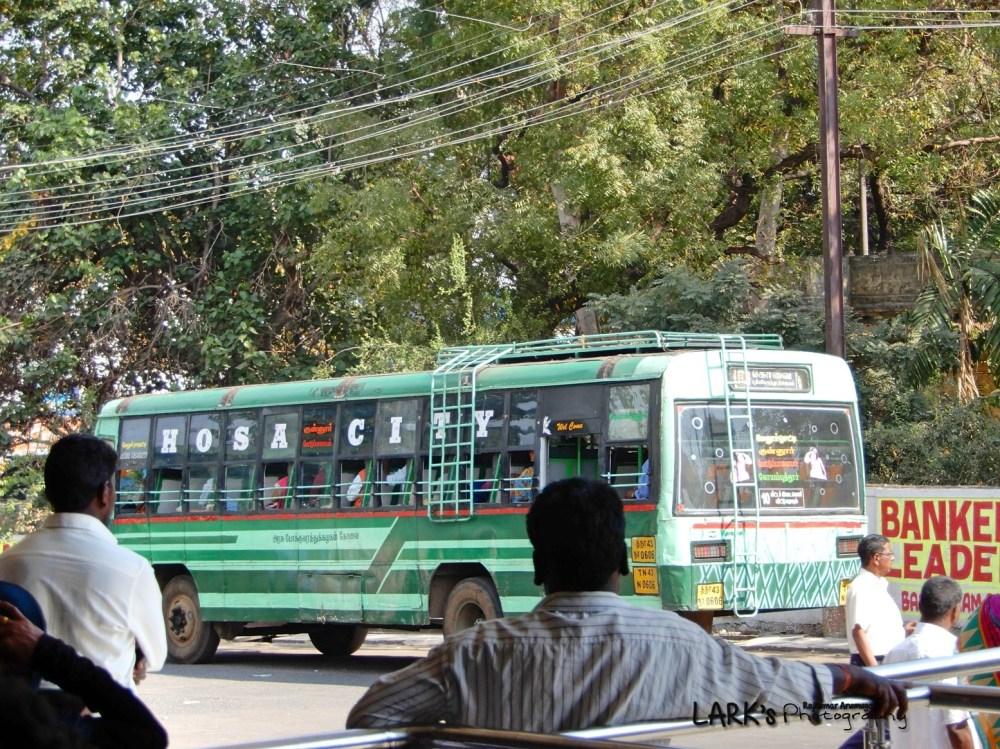 TNSTC TN 43 N 0606 Melur Hosatty - Coimbatore