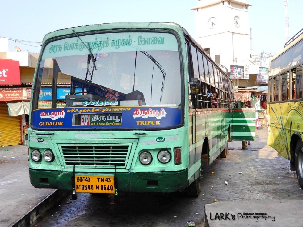 TNSTC TN 43 N 0640 Gudalur - Tiruppur