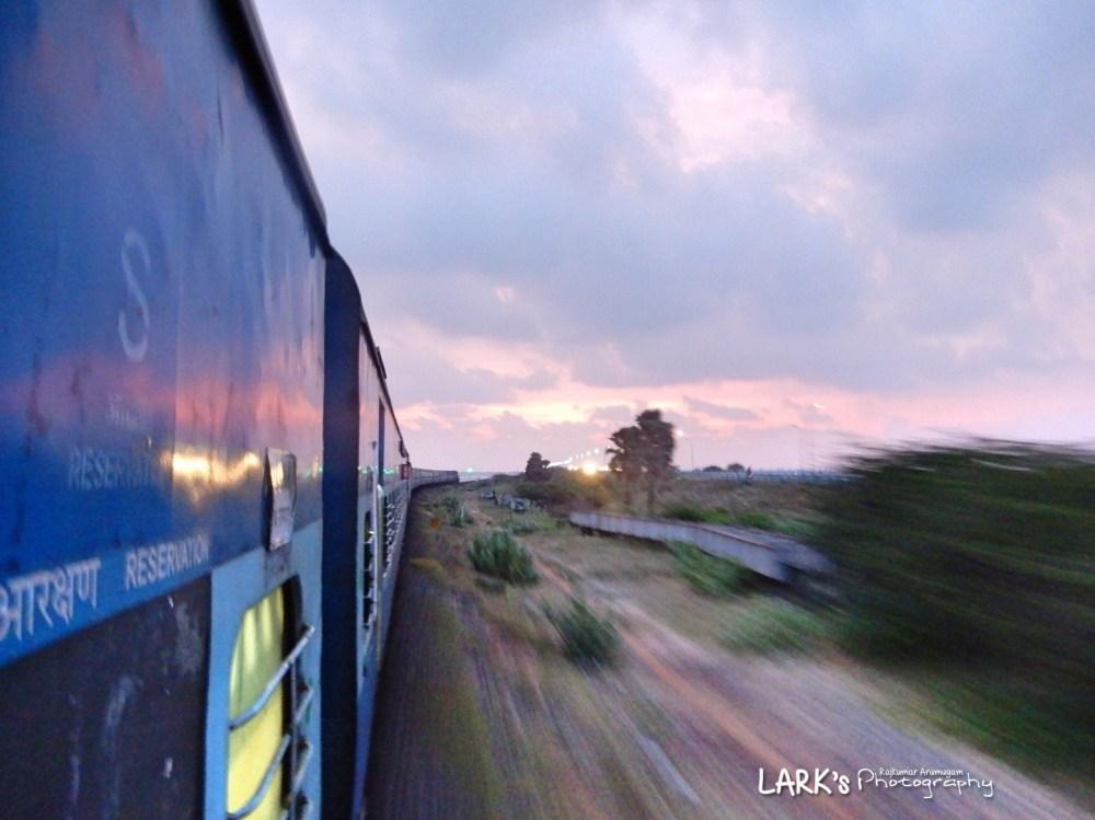 Indian Railways 16618 - Coimbatore - Rameswaram Express (via Trichy)