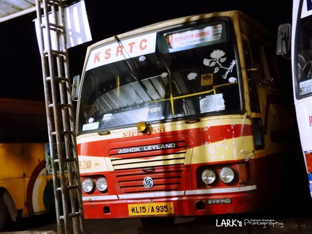 KeSRTC RPE 240 Sulthan Bathery - Nedumangad