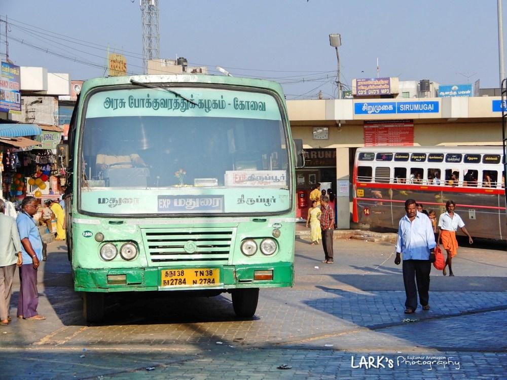 TNSTC TN 38 N 2784 Kotagiri - Madurai