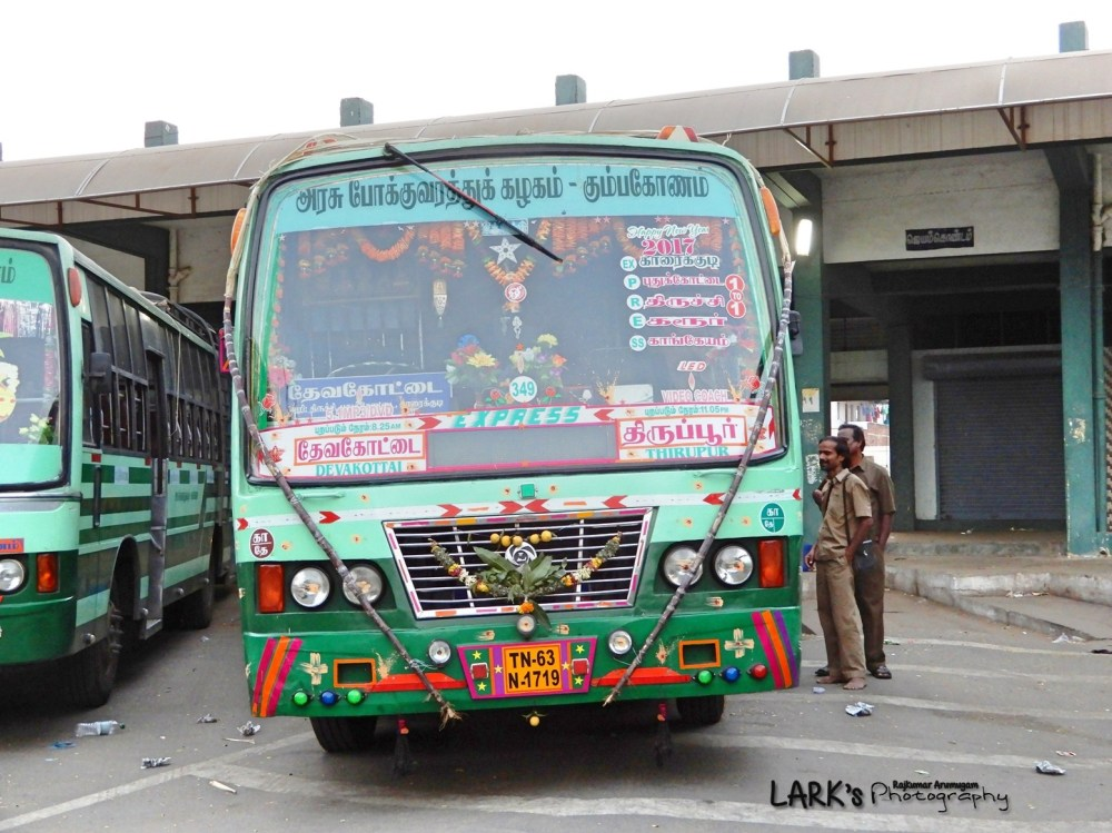 TNSTC TN 63 N 1719 Tiruppur - Devakottai