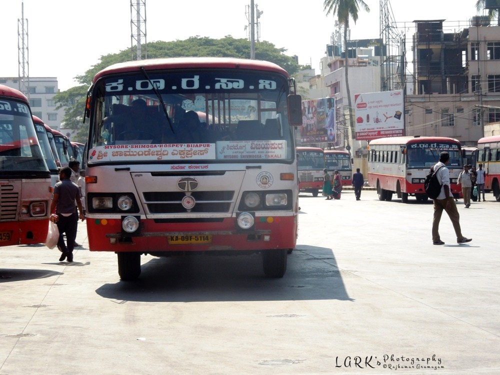 KaSRTC KA 09 F 5114 Mysore - Takali