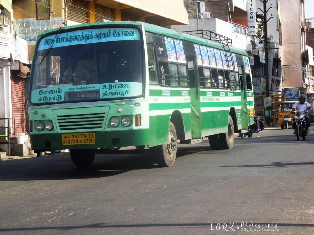 TNSTC TN 33 N 2720 Salem - Udumalai