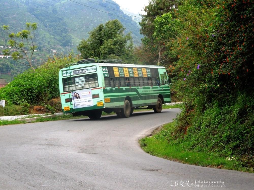 TNSTC TN 33 N 3091 Ooty - Gobi