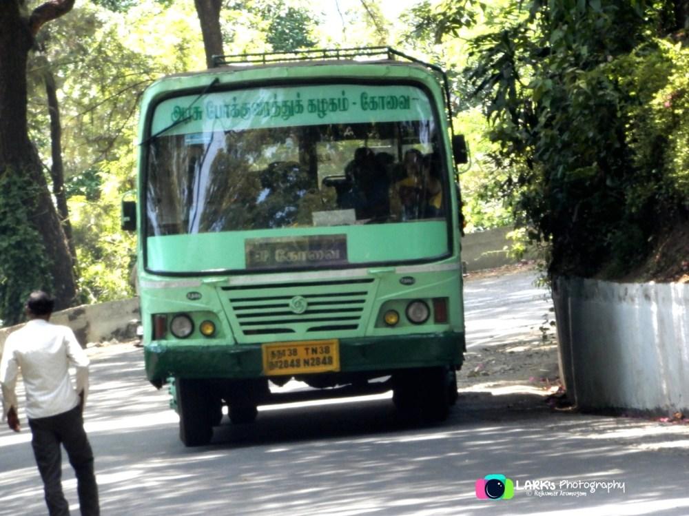 TNSTC TN 38 N 2848 Ooty - Coimbatore