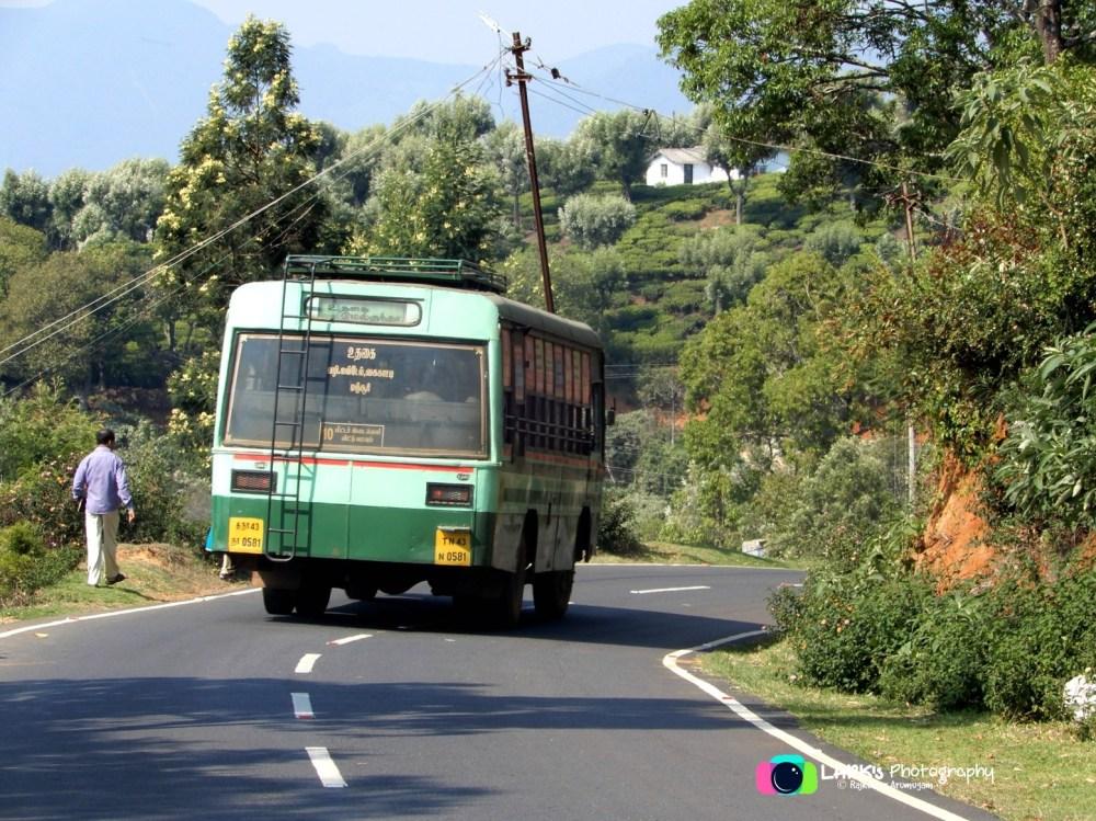TNSTC TN 43 N 0581 Ooty - Melkundah