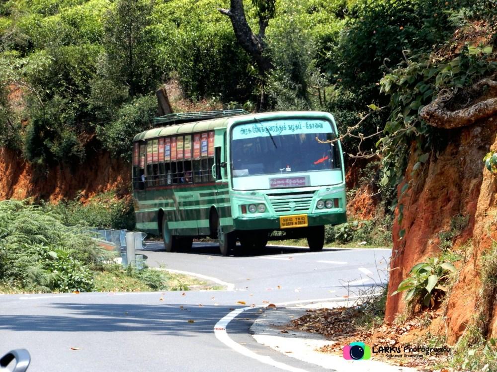 TNSTC TN 43 N 0619 Ooty - Kilkundah