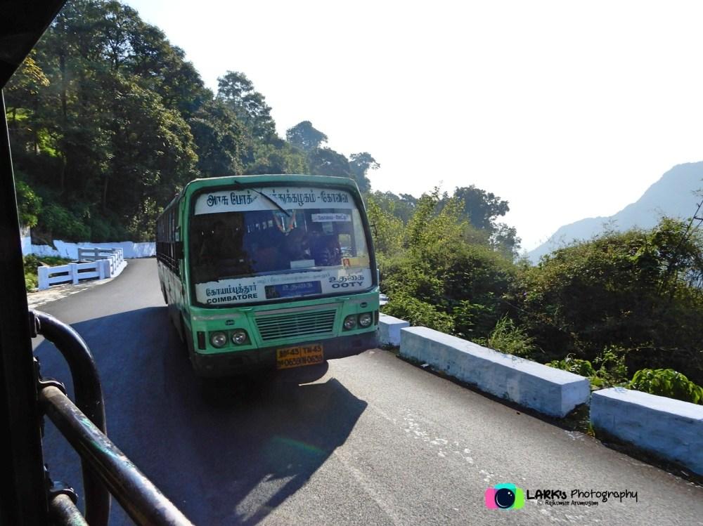 TNSTC TN 43 N 0639 Ooty - Coimbatore