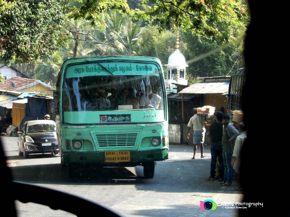 TN 43 N 0642 Ooty - Coimbatore