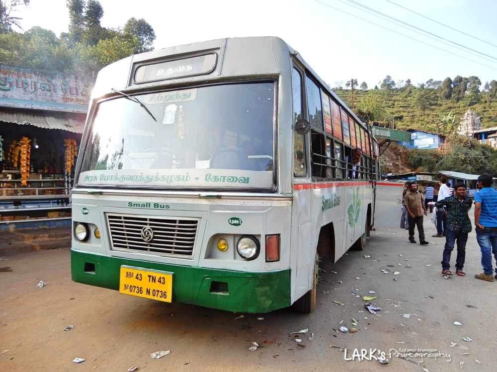 TNSTC TN 43 N 0736 Ooty - Gudalur